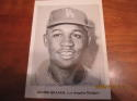 Junior Gilliam Los Angeles Dodgers 5x7 Picture Pack photo signed jsa