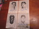 1955 Brooklyn Dodgers Picture Pack signed 12 card set  -  6 signed!  Snider, Reese