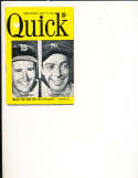 9/12 1949 Quick magazine Ted Williams Joe Dimaggio bbmg10