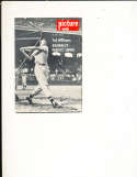3/27 1956 Picture Week Ted Williams & Joan Collins bbmg10