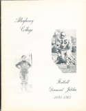 Allegheny College Football Diamond Jubilee booklet 1893-1967 bk2 a20