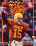 Year of the Griz University of Montana 1995 Football yearbook bk2 a20