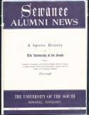 The University of the South 1875-1948 Sewanee Tennessee sports history bk2 a20