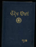 1918 The Owl, University of Pittsburgh Yearbook, Football National Champions bk2 a20
