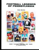 Football legends of Pennsylvania, Joe Namath, signed by Evan Burian bk2 a20