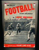 The story of Football in Text and Pictures, 1947 by Lamont Buchanan bk2 a20
