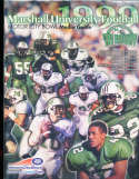 1999 Marshall University football Guide a6 bx66