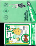 1976 Marshall University football Guide (only listed) a6 bx66