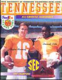1998 Tennessee Football Orange Bowl Guide Peyton Manning bxbowl