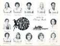 1978 Chicago Hustle WBL 8x10  photo Women's Team Basketball