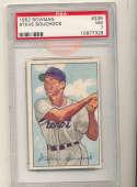 1952 Bowman Steve Bouchlock #235 Tigers card psa 7 HN
