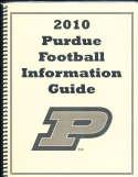 2010 Purdue Football Media Guide a9 BX81