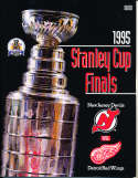 1995 New Jersey Devils vs Detroit Red Wings Finals Program h3 a19