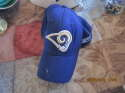 St. Louis Rams blue authentic team headwear stretch baseball cap