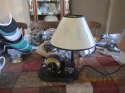 St. Louis Rams kids room lamp with three settings 12