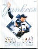 2000 New York Yankees Yearbook nm   bxy3