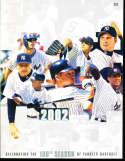 2002 New York Yankees Yearbook nm   bxy3