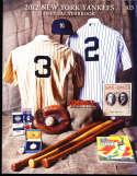 2012 New York Yankees Yearbook nm   bxy3