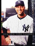 2014 New York Yankees Yearbook nm   bxy3
