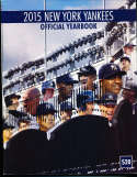 2015 New York Yankees Yearbook nm   bxy3