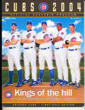 2004 chicago Cubs Yearbook / program nm   bxy3
