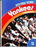 1971 new York Yankees Yearbook nm   bxy3