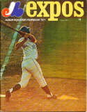 1971 Montreal Expos Baseball Yearbook em vol 3 #1