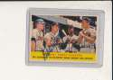 1958 Topps #351 Eddie Mathews Braves Signed baseball card
