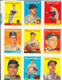 Mike Garcia indians #196 1958 Topps Signed card (only one listed) bin58