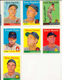 Carl Sawatski Braves #234 1958 Topps Signed card (only one listed) bin58