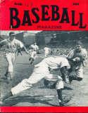Aug 1949 Baseball Magazine Virgil Stallcup Del Rice BBMag12