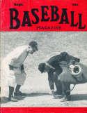Sept 1949 Baseball Magazine Casey Stengel BBMag12
