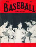 May 1950 Baseball Magazine Stan Musial Enos Slaughter BBMag12