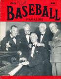 July 1950 Baseball Magazine Connie Mack BBMag12