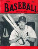 Sept 1950 Baseball Magazine Johnny Lipon BBMag12