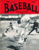 Oct 1950 Baseball Magazine Richie Ashburn BBMag12