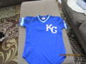 1980's Willie Wilson game used batting practice jersey #6 Kansas City Royals