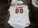 Jack Clark 1990 Signed Game Used Padres Home Jersey psa/dna