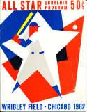 1962 All star Game Baseball Program