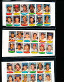 1974 topps stamp uncut set 24 sheets em/nm