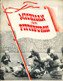 1941 10/11 Michigan vs Pittsburgh Large Football Program bxlg