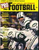 1969 Pro Football Street & Smith Joe Namath Jets em