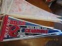 Buffalo Bills Super bowl XXVI champions nm Pennant