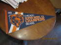 Chicago Bears super bowl XX  champions Pennant nm
