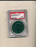 1960 Armour Coins Mickey Mantle Yankees green psa nm 7