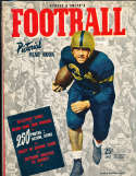 1942 Allen Cameron Navy Street & Smith College Football Annual Yearbook Guide