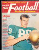 1967 Ted Hendricks Miami Street & Smith College Football Annual Yearbook Guide