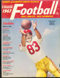 1967 Ron Drake USC Street & Smith College Football Annual Yearbook Guide
