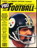 1975 Franco Harris Steelers Pro Street & Smith Football Annual Guide bxss2
