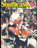 1981 SEC Southeastern Conference Tennessee  Athlon National College Football Annual Yearbook Guide